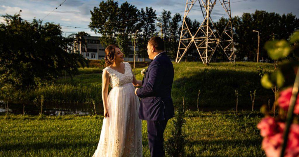 Vremea rea si sedinta foto de nunta